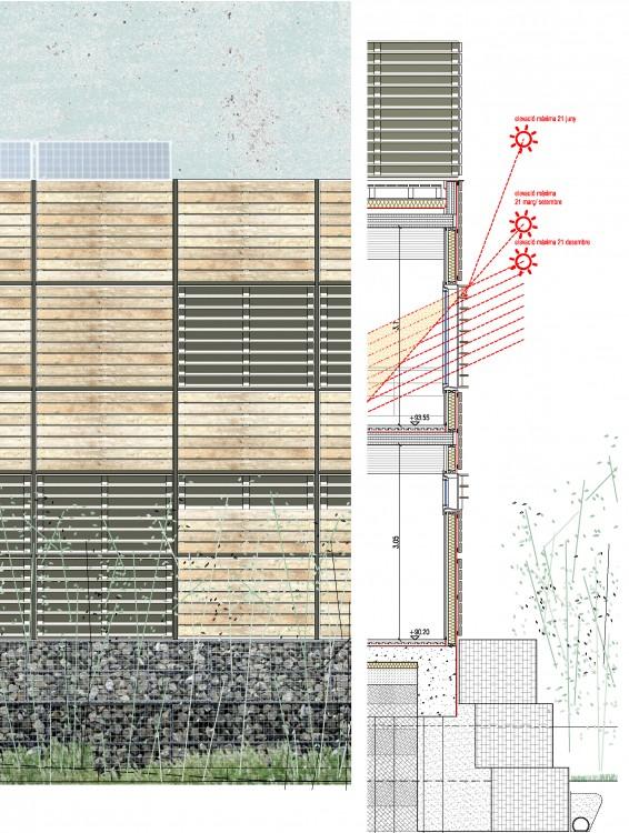 façana de fusta